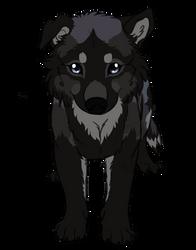 Patreon surprise - puppy by AzureHowlShilach