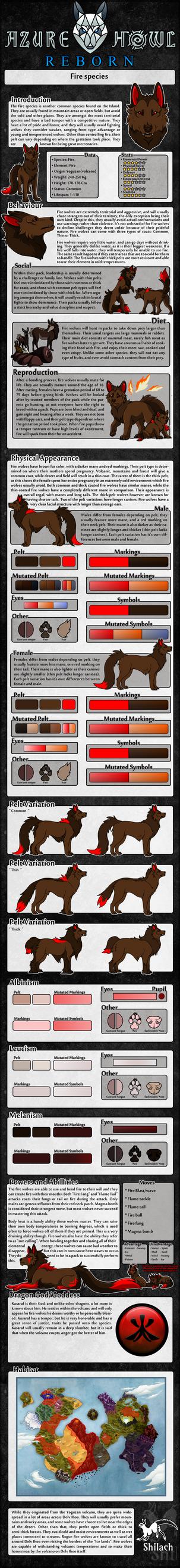 AzureHowl Reborn - Fire species