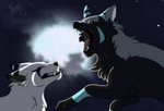 Serious wolf fight animation (Youtube link)