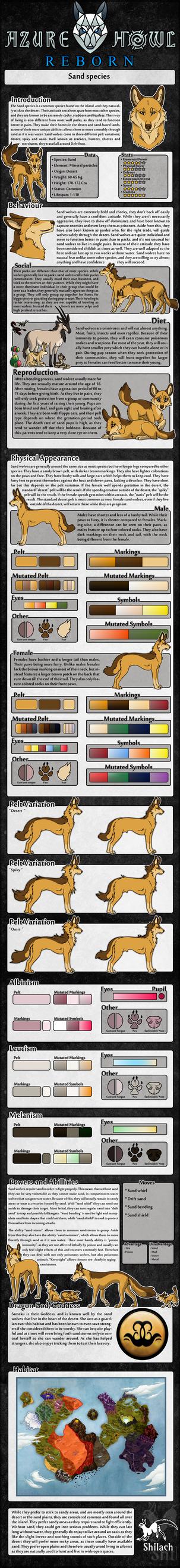 AzureHowl Reborn - Sand species