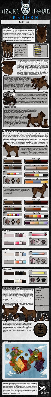 AzureHowl Reborn - Earth species
