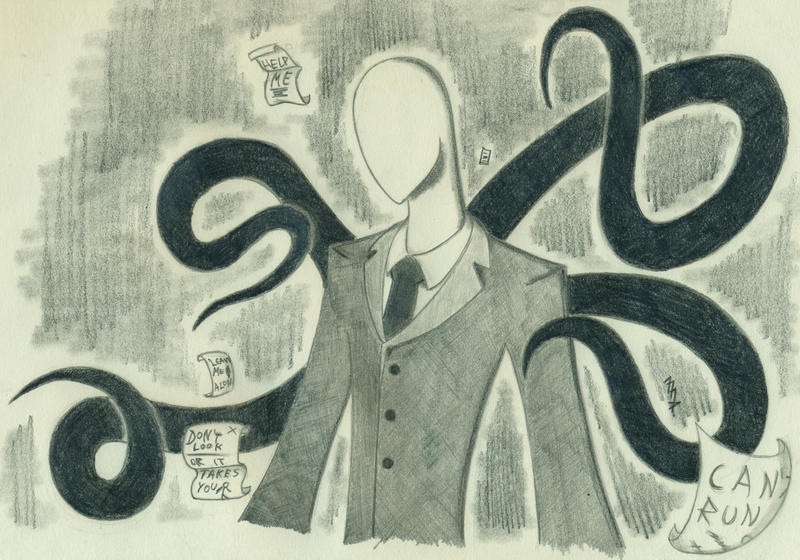 Slenderman by Falenis