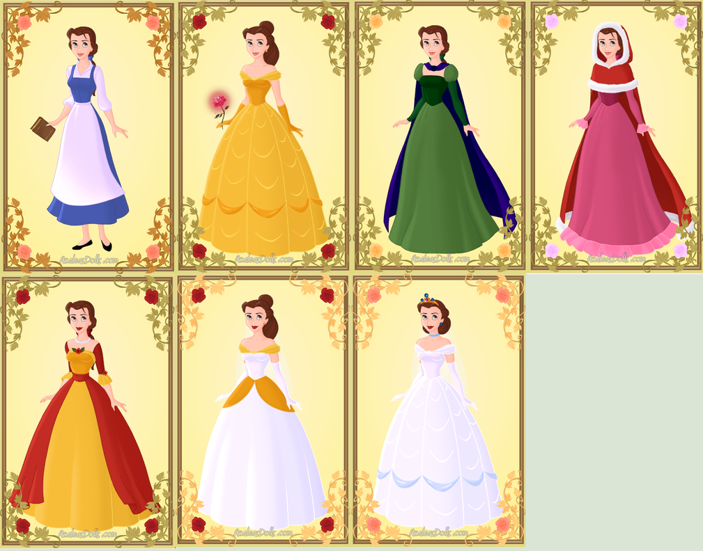 Christmas wedding dress 09 - All Of Belle S Dresses By Katperson098 On Deviantart