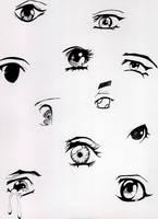 Manga Eyes by washio-risuta