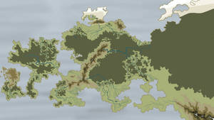 Just a fantasy map
