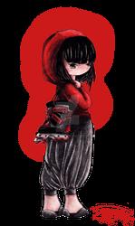 Red Roller Hood by EvilMaiden