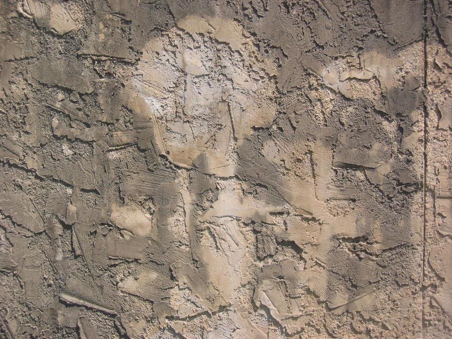 Stock - Mottled Stucco Wall by wiebkefesch