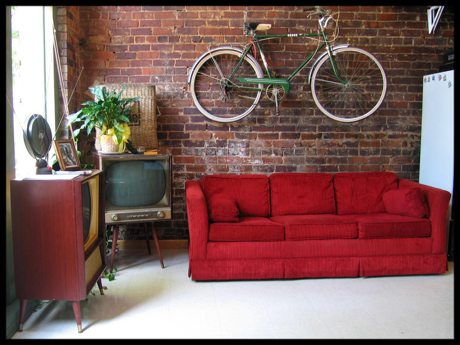 bike on the wall by wiebkefesch on deviantart. Black Bedroom Furniture Sets. Home Design Ideas