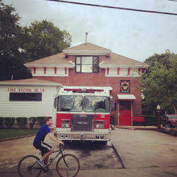 Bus View - Fire Station No. 19
