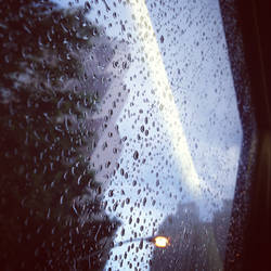 Bus View - Georgia Pacific in the Rain