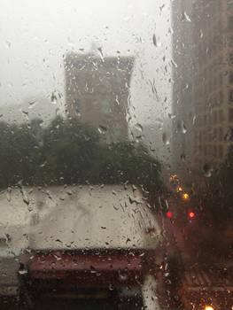 Layer of Raindrops