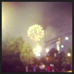 Fuzzy Fireworks
