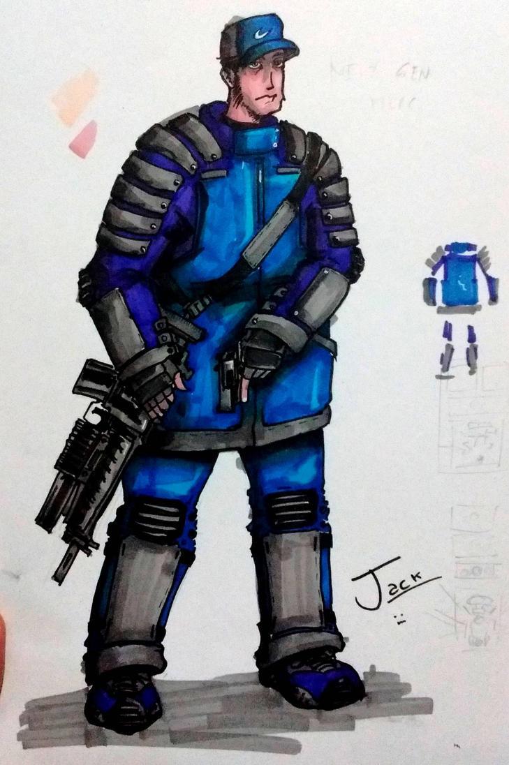 OC merc :D by JACK-GARCIA