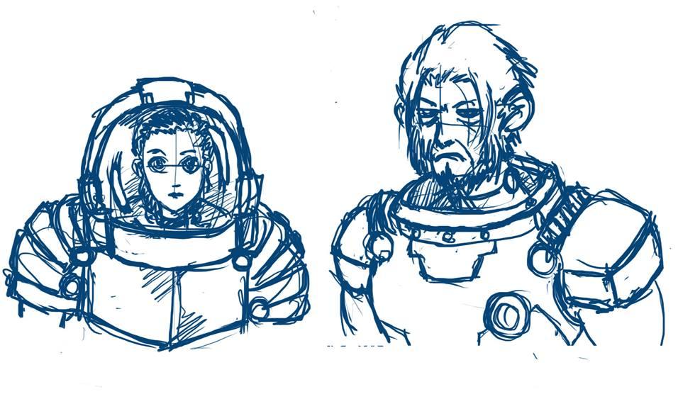 Space Monkey by JACK-GARCIA