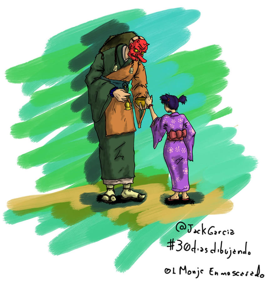 TEGU and GIRL by JACK-GARCIA