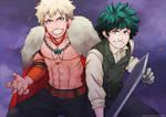 Boku no Hero Academia - Deku and Bakugo (RPG AU)