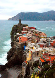 Cinque Terre, Italy by whisperwish