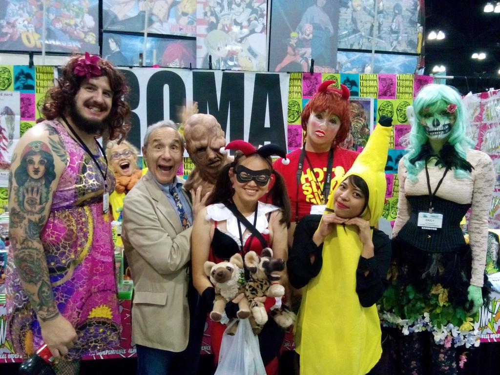 Meeting the Troma Crew by Dragon-hobbit101