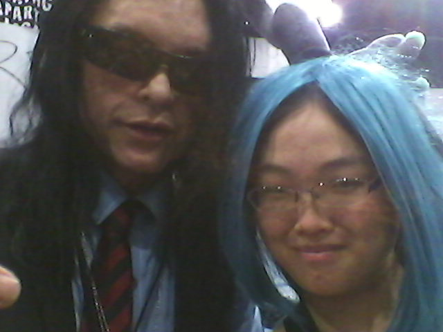 Meeting Tommy Wiseau by Dragon-hobbit101