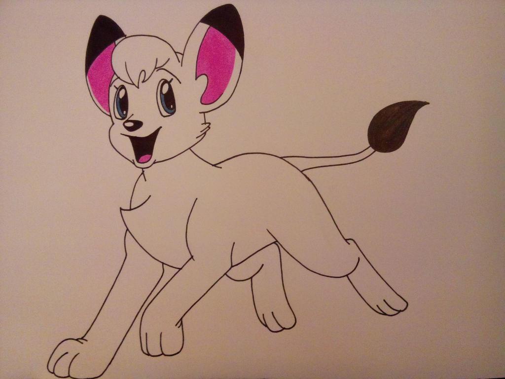 Kimba the White Lion by Dragon-hobbit101