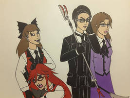 Grell's at it Again by Dragon-hobbit101