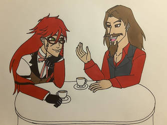 Grell Gets to Know Donovan by Dragon-hobbit101