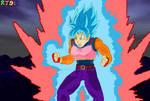 Super Saiyan Blue Kaio-ken Brachi