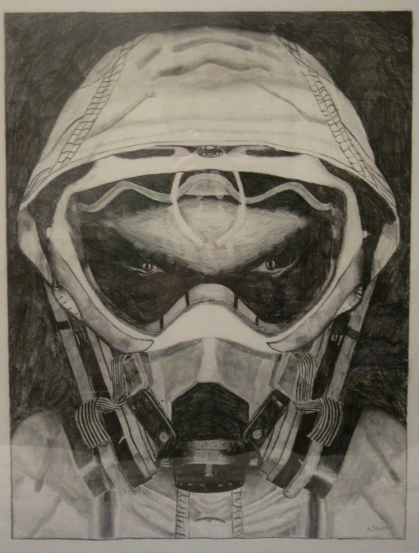 gas mask drawing-#17