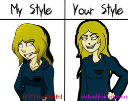My Style Your Style Meme by virtualfairyqueen