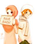 Save Gaza by Rahimi-AF