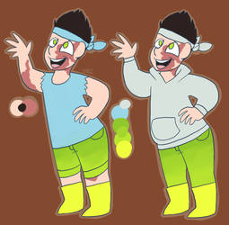 Chase's twin brother ref