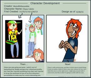 Chase character development meme