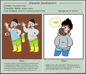 Bobby character development meme