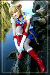 Sailor Moon: Happy Go Lucky by VandorWolf
