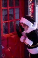 Sora: Waiting for Santa by VandorWolf
