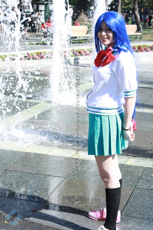 Kaname: Miss Chidori by VandorWolf