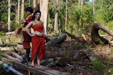 Zuko: Fire Nation Siblings by VandorWolf