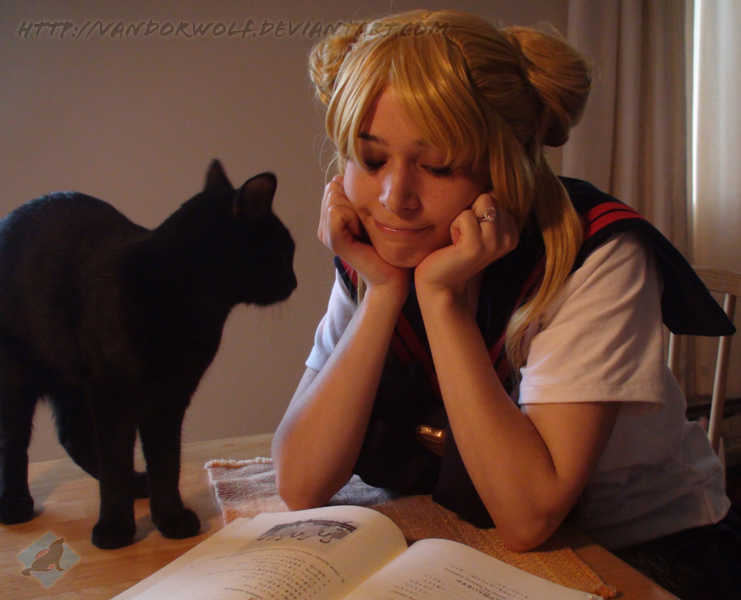 Sailor Moon: Stop Daydreaming by VandorWolf
