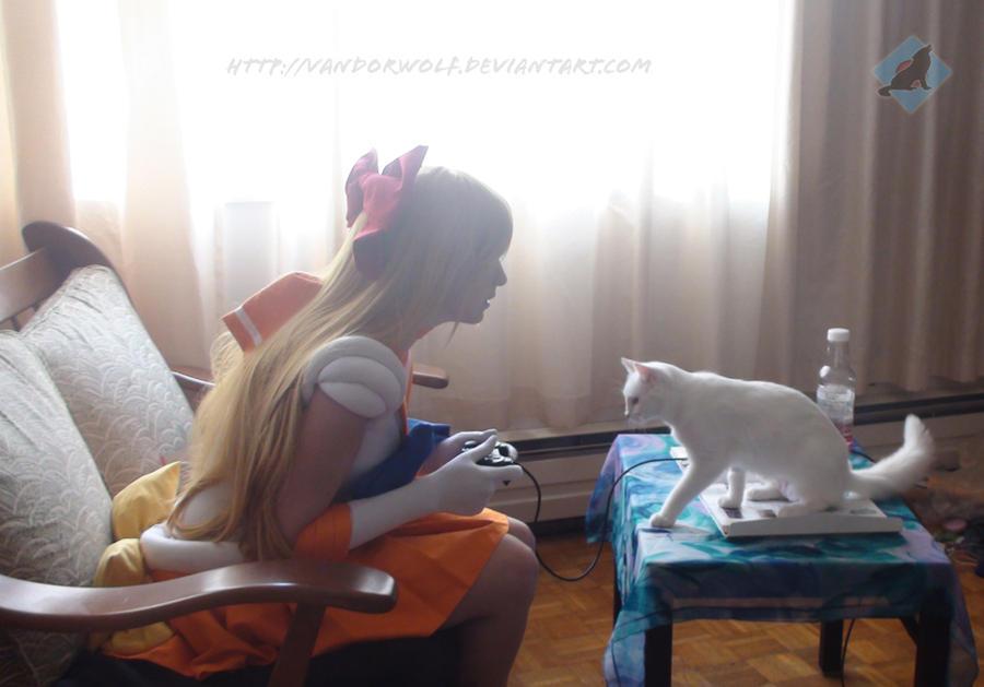 Sailor Venus: Someplace to Be by VandorWolf