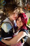 Kingdom Hearts- Sora and Kairi