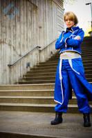 Sakura Con: Riza Hawkeye by VandorWolf