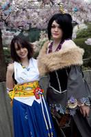 Final Fantasy X: Yuna and Lulu by VandorWolf