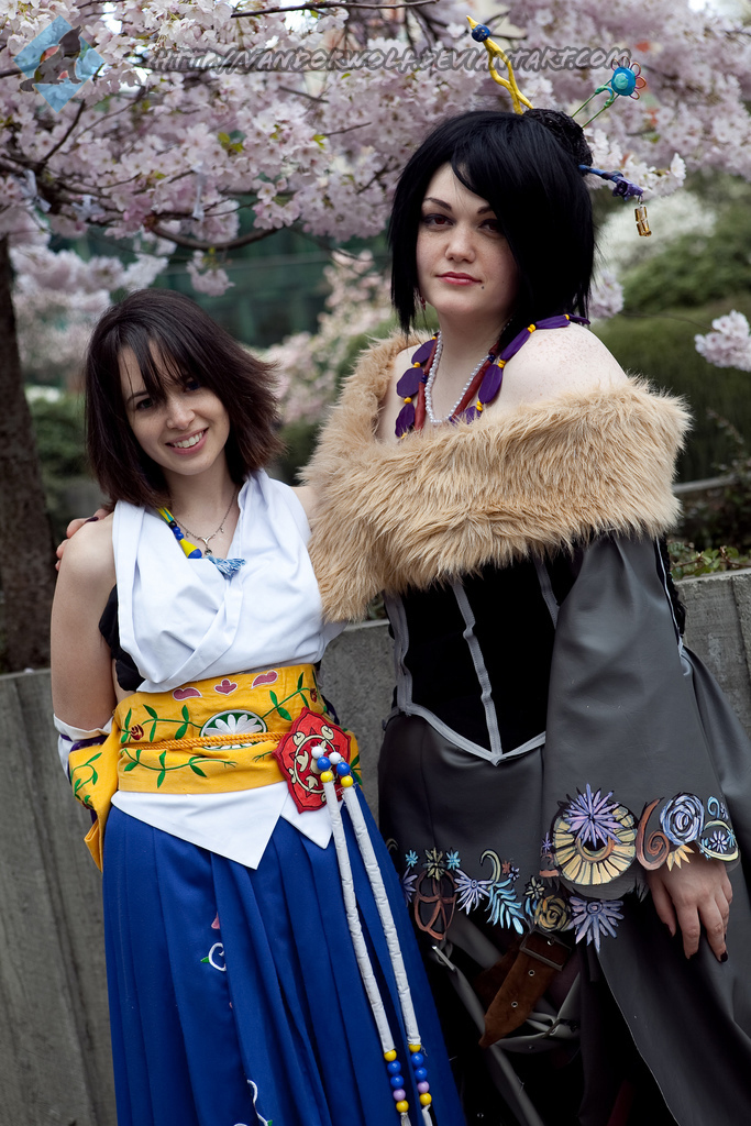 Final Fantasy X: Yuna and Lulu by VandorWolf