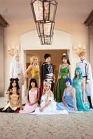 Sailor Moon Princesses + Co. by VandorWolf