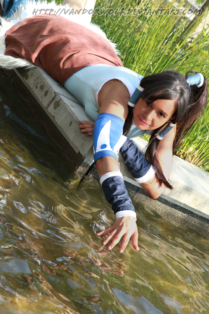 The Legend of Korra: Waterbender by VandorWolf