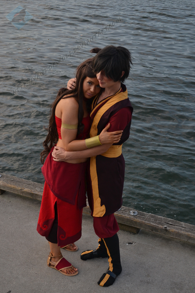 Avatar: Fire Nation Katara and Zuko by VandorWolf