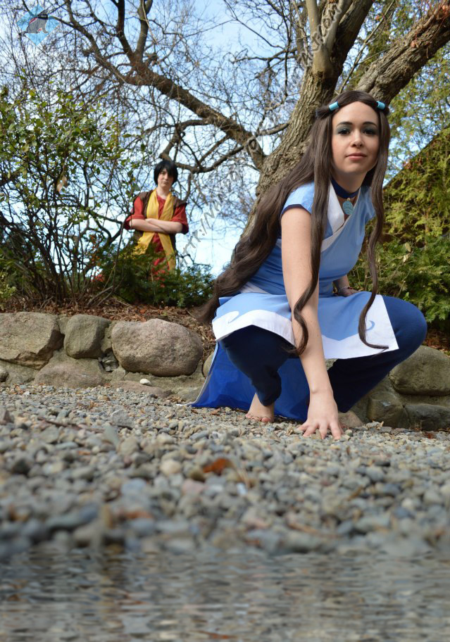 Avatar The Last Airbender: Water Tribe Katara by VandorWolf