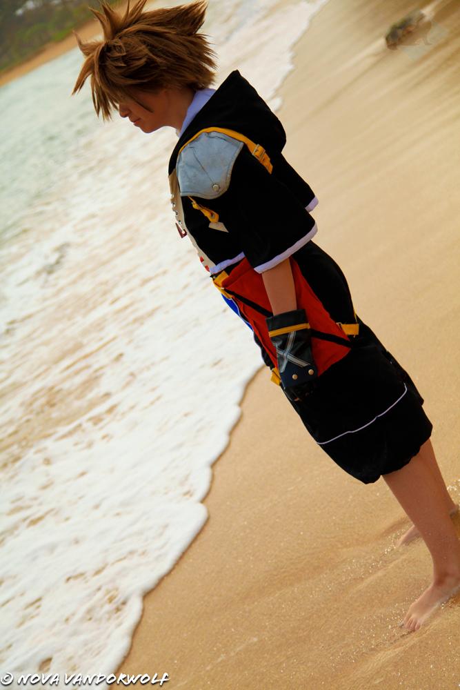 Kingdom Hearts II- Sora by VandorWolf