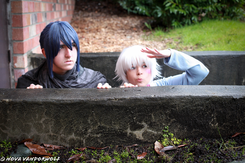 Shion and Nezumi: Hiding from No.6 by VandorWolf