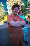 Wreck it Ralph: Ralph and Vanellope